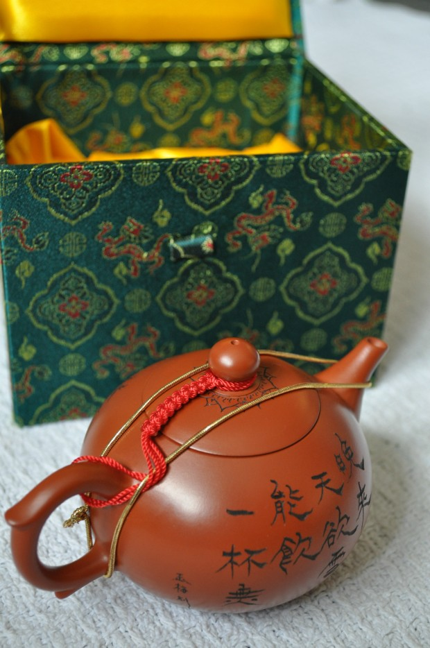 Gorgeous Chinese Teapots
